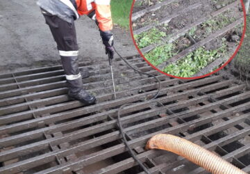 Cattle Grid Cleaning Service