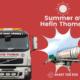 Summer at Hefin Thomas